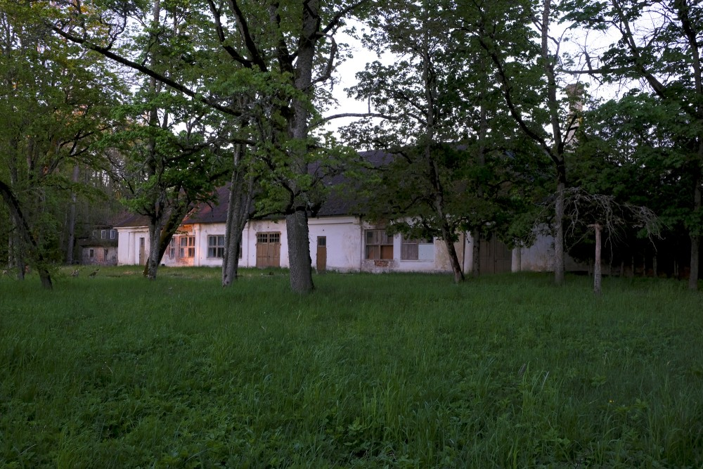 Aizupe Manor Farm Building, Aizupes muiža, Aizupe, Muiža
