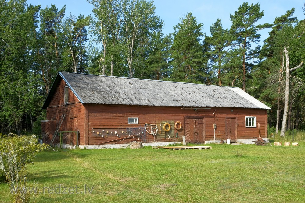 Farm Building in the Oviši Lighthouse Area, Oviši, Ēka, Koka māja