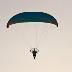 Paramotor on the Fly