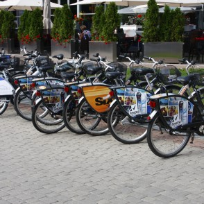 Bicycle rental in Riga
