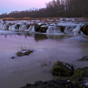 Venta Rapid in the thaw of February