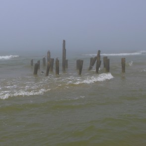 Baltic Sea, Pier and Mist