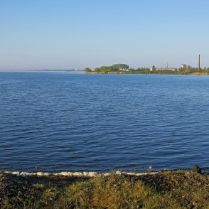 Morning Landscape Of Lake Liepāja