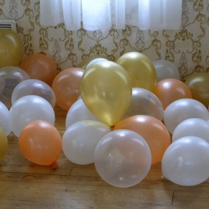 Balloons Waiting for Their Application!