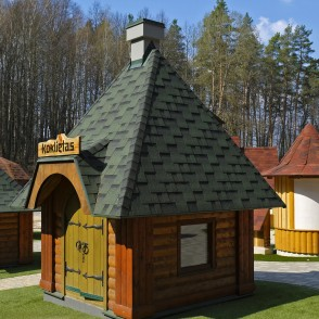 "Dwarf Town ""Čiekure"" Woodworking Lodge"