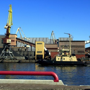 Tugboat SIRIUS in the Port of Ventspils