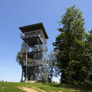 Observation Tower In Riekstukalns