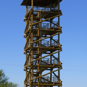 "Viewing Tower in Nature Reserve ""Lielupe Floodland Meadows"""