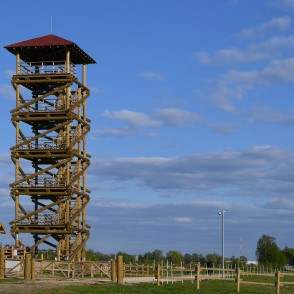 Jelgava Palace Island Viewing Tower