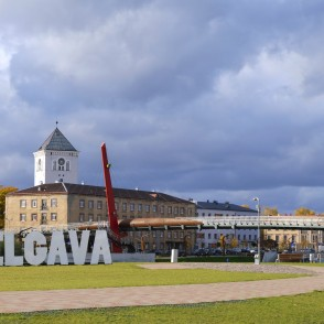 View of Jelgava from Pasta Island