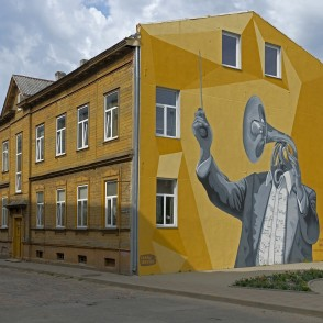 Mural Paintings in Liepāja
