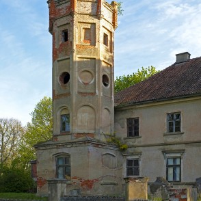 Šķēde Manor House Tower