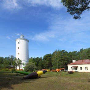 Oviši Lighthouse, Latvia