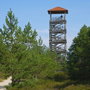 Observation tower in Kolka