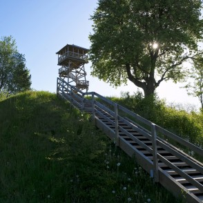 Lake Ciecere Observation Tower, Latvia