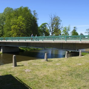 Bridge Over The River Bērze, Dobele