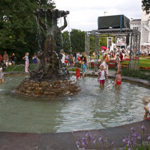 "Fountain ""Nymph"" in Riga"