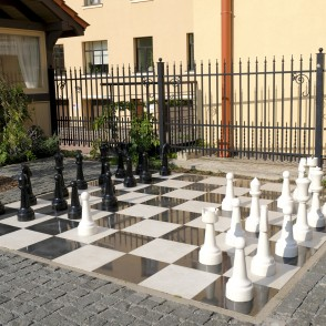 Restaurant 'Putnu Dārzs' open-air chess
