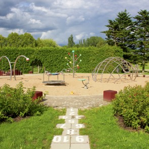 Playground in the National Botanic Garden