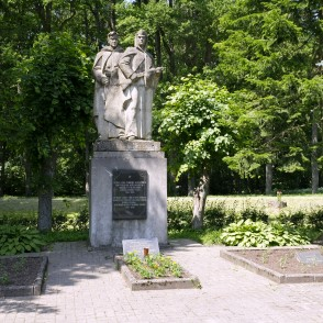 Monument to the Fallen in World War II in Galēni
