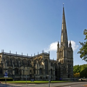 St Mary Redcliffe, Bristole, UK